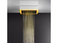 Soffione doccia a soffitto/controsoffitto con cromoterapia57503+57012 - GESSI