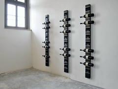 Portabottiglie da parete in acciaioART580 | Portabottiglie da parete - WISSMANN RAUMOBJEKTE