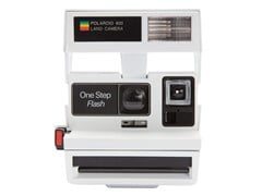 Fotocamera istantanea 600 80s STYLE SMILEY WHITE - POLAROID ORIGINALS®