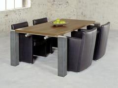 Tavolo rettangolare in legno ART604 | Tavolo da riunione -