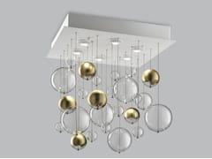 Lampada da soffitto in vetro soffiato BOLERO 60x60 - Bolero
