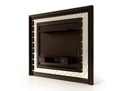 Mobile TV sospeso in legno e vetro6145 | Mobile TV - BELLANI
