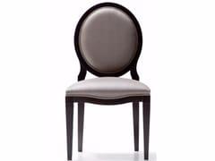 Sedia a medaglione in tessuto 6310 | Sedia -