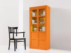 Vetrina laccata in legno e vetro 6338/1 -
