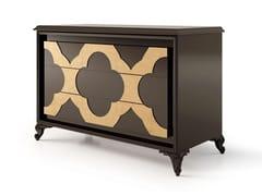 Cassettiera in legno con maniglie integrate6371 | Cassettiera - BELLANI
