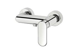 Miscelatore per doccia a 2 fori in ottone cromato SMILE 64  - 6454050 - Smile 64