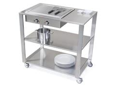 Modulo cucina freestanding con piastra teppanyakiCUN TEPPANYAKI - JOKODOMUS