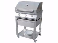 Barbecue a gas in acciaio inoxCUN BARBECUE 3 BURNERS - JOKODOMUS