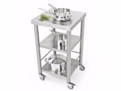 Modulo cucina freestanding in acciaio inox687500 | Modulo cucina freestanding - JOKODOMUS