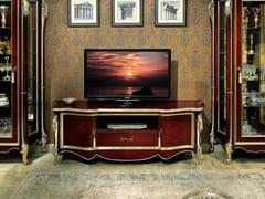 Mobile TV basso in legno con ante a battente689 - SCAPPINI & C. CLASSIC FURNITURE