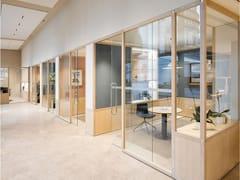 Sistema modulare componibile in legno per zone di lavoro6x6 - PARTITION - CESARE ROVERSI