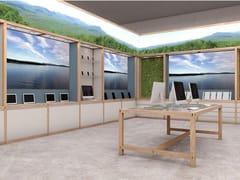 Sistema modulare componibile in legno per negozi6x6 - DISPLAY - CESARE ROVERSI