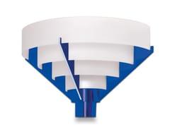 Applique a luce diretta6C TER BLE | Applique - JEAN PERZEL