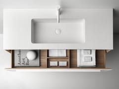 Mobile lavabo sospeso con cassetti7.0 | Mobile lavabo - FALPER