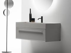 Mobile lavabo sospeso con cassetti 7.0 | Mobile lavabo - 7.0