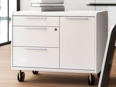 Cassettiera ufficio con ruote 70'S SEVENTIES | Cassettiera ufficio con ruote - 70's Seventies