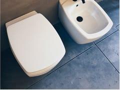 Wc sospeso in ceramica750 | Wc - AGAPE