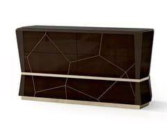Cassettiera in legno con maniglie integrate7571 | Cassettiera - BELLANI