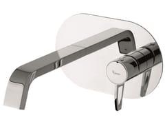 Miscelatore per lavabo a muro in ottone senza scarico 83055LA | Miscelatore per lavabo senza scarico - Minù