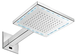 Soffione doccia a led a muro con cromoterapia PLAYONE SHOWERS - 8548612 - My Wellness