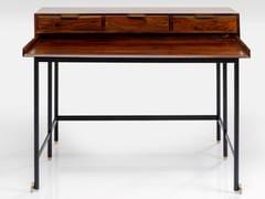 Scrittoio in legno Sheesham e acciaio con vernice epossidicaRAVELLO | Scrittoio - KARE DESIGN