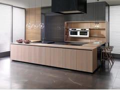 Cucina laccata con penisolaE9.30 / E7.30 / E5.30 - GAMADECOR - PORCELANOSA GRUPO
