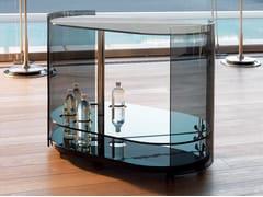 Carrello bar in vetro9000 | Tavolino - REFLEX