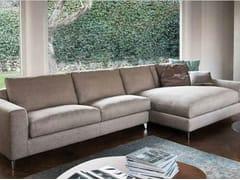 Divano in tessuto con chaise longue 920 ZONE COMFORT | Divano con chaise longue - 920 ZONE COMFORT