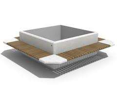 Panchina in calcestruzzo con fioriera integrata93   Panchina con fioriera integrata - ENCHO ENCHEV - ETE