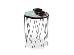 Tavolino di servizio rotondo in marmo 9500 - 104 - 9500