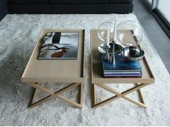 Tavolino di servizio rettangolare in legno 9500 - 047 - 9500