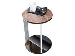 Tavolino rotondo in legno 9500 - 7 | Tavolino di servizio - 9500