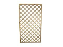Pannello grigliato rettangolare in legno95655 | Pannello grigliato - FERRITALIA