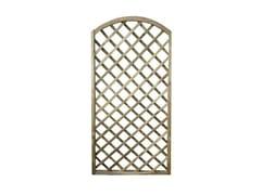 Pannello in legno grigliato ad arco95656 | Pannello grigliato - FERRITALIA
