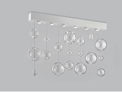 Lampada da soffitto in vetro soffiato BOLERO 98x9 - Bolero