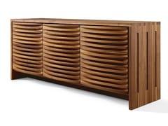 Madia in legno con ante a battenteA-120 | Madia - DALE ITALIA