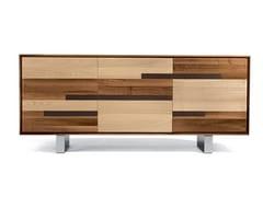 Madia in legno con ante a battenteA-140 | Madia - DALE ITALIA