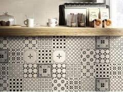 Decoro per pavimento/rivestimentoA_Mano   Mix Ardesia - CERAMICHE RAGNO