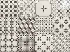 Decoro per pavimento/rivestimentoA_Mano | Mix Bianco antico - CERAMICHE RAGNO