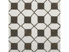 Decoro per pavimento/rivestimentoA_Mano | Tappeto 1 Bianco antico - CERAMICHE RAGNO