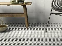 Decoro per pavimento/rivestimentoA_Mano   Tappeto 1 Bianco antico - CERAMICHE RAGNO