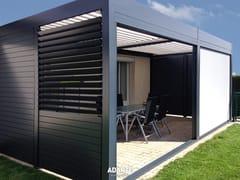 Frangisole orientabile in alluminioA1301 SPATYO - SOLE PIOGGIA SISTEMI