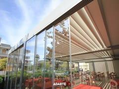 ADARTE, A1703 VYSTA-S Vetrata scorrevole in alluminio e vetro