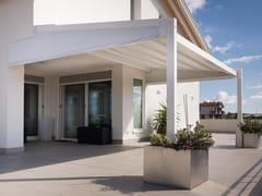KE Outdoor Design, A2 COMPACT AS Pergola autoportante motorizzata in alluminio