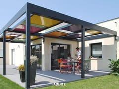 Pergolato a pannelli scorrevoli in alluminioA501 ARLEQUIN - SOLE PIOGGIA SISTEMI
