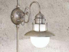 Lampada da parete per esterno in metalloABBAZIA | Lampada da parete per esterno - ALDO BERNARDI