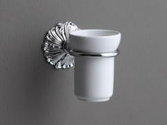 Portaspazzolino a muro in ceramicaDECOR | Portaspazzolino a muro - BLEU PROVENCE