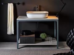 Scarabeo Ceramiche, ABLE Mobile lavabo da terra singolo