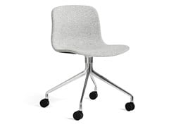 Sedia imbottita con ruoteABOUT A CHAIR AAC 15 - HAY