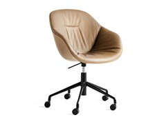 Sedia imbottita ad altezza regolabile con ruoteABOUT A CHAIR AAC 153 SOFT - HAY